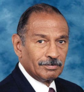 Hope I have permission to use this image of Rep. Conyers!
